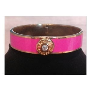 Victoria Secret Bangle Bracelet Pink Gold